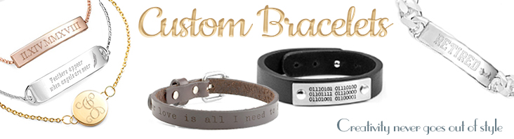 Personalized Custom Bracelets