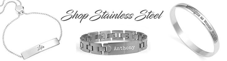 Stainless Steel Custom Bracelets