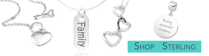 Silver Engraved Necklaces