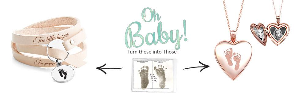 Baby Footprint Jewelry