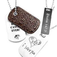 personalized necklaces for him