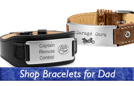 Shop bracelets for Dad