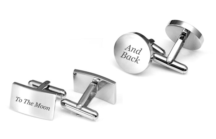 personalized gifts for him engraved cufflinks