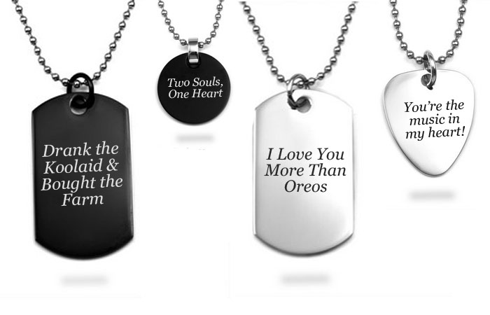 custom dog tags for men
