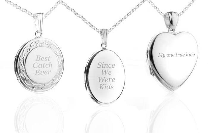 engraved lockets for women