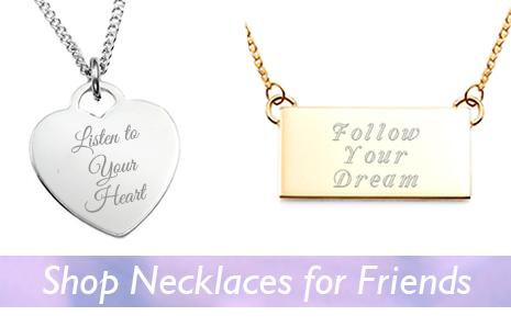 Shop necklaces for friends