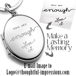 Personalized custom handwriting jewelry