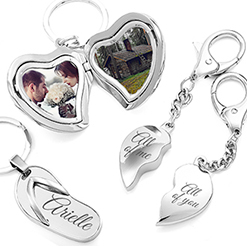 personalized engraved keychains