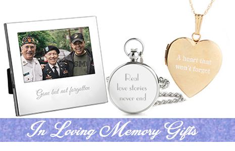 Shop memorial gifts