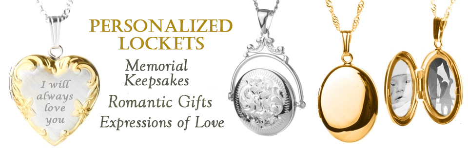 lockets locket silver with engraving portfolio compass engraved