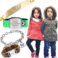 personalized childrens bracelets