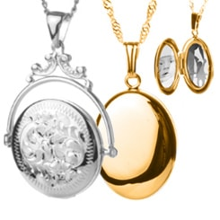 Shop our large selection of personalized engraved lockets