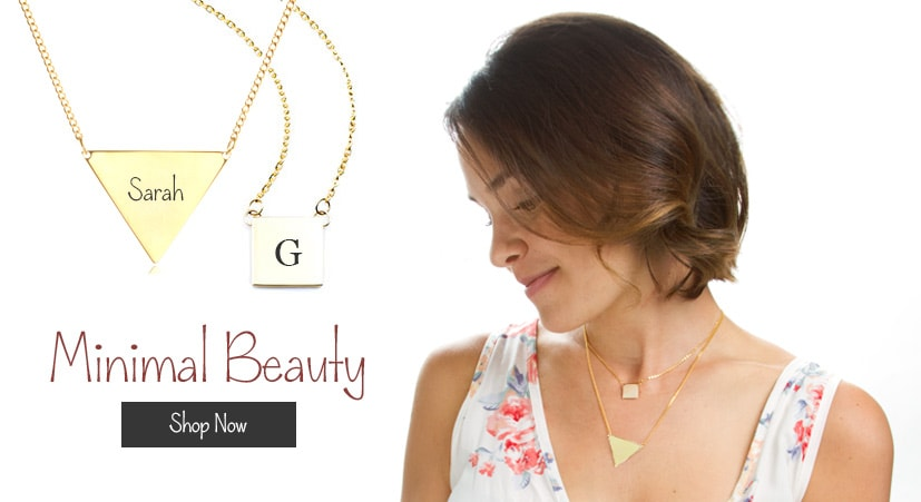 minimal personalized jewelry thats sure to stand out