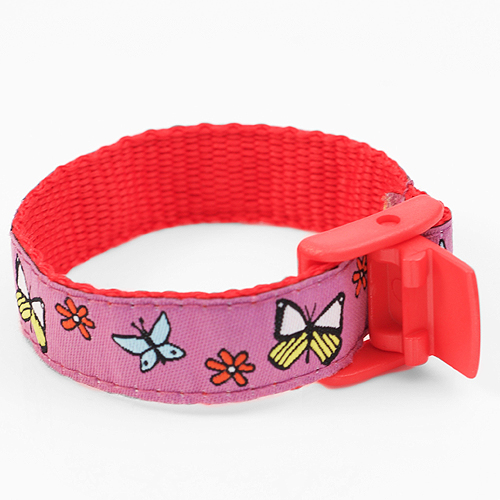 Butterfly Strap for Slide On ID Tags LG Fits 4-8 Inch inset 1