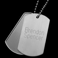 Tech Me Out USB Engraved Dog Tags inset 3