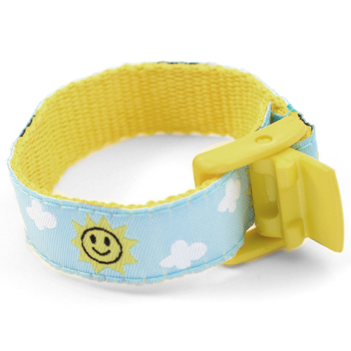 Beaming Sun Bracelet with Safety ID Tag for Children inset 1
