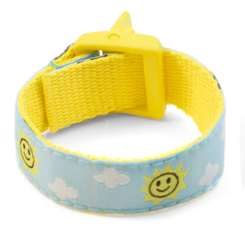 Beaming Sun Bracelet with Safety ID Tag for Children inset 2