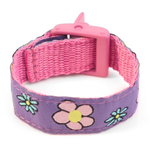 Flowery Field Bracelet with Safety ID Tag for Kids inset 2