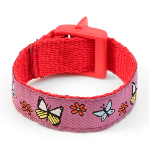 Butterfly Sunrise Bracelet with Safety ID Tag for Kids inset 2