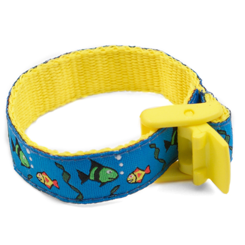 Finding Fishes Bracelet with Safety ID Tag for Kids inset 1