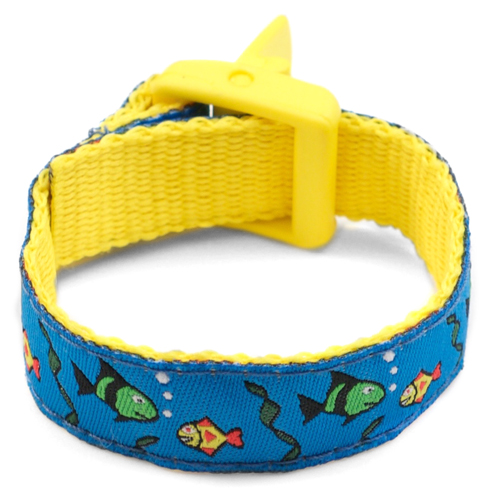 Finding Fishes Bracelet with Safety ID Tag for Kids inset 2