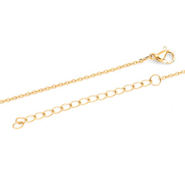 Pretty in Gold Custom Bar Necklace inset 1