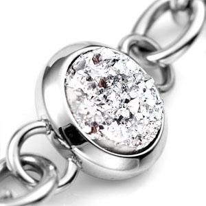 Treasure Trove Crystal Engraved Silver Bracelet inset 2
