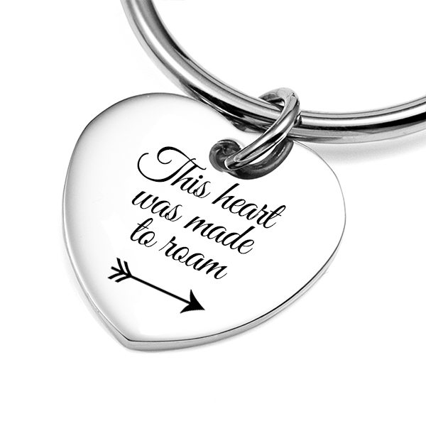 Follow Your Heart Keychain inset 1