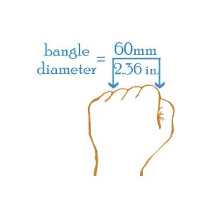 Brilliant Silver Bangle Engravable Bracelets for Her inset 2