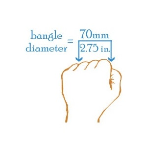 Brilliant Silver Bangle Engravable Bracelets for Her inset 4
