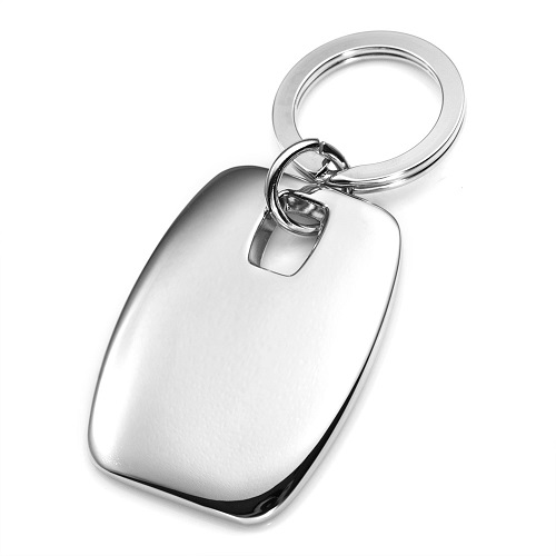 Signature Engraved Handwriting Keychain inset 1