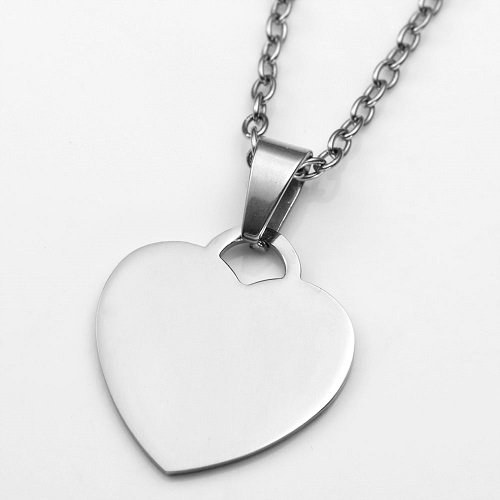 Engraved Handwriting Jewelry Heart Pendant inset 1