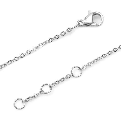 Round Silver Engravable Charm Bracelet inset 1