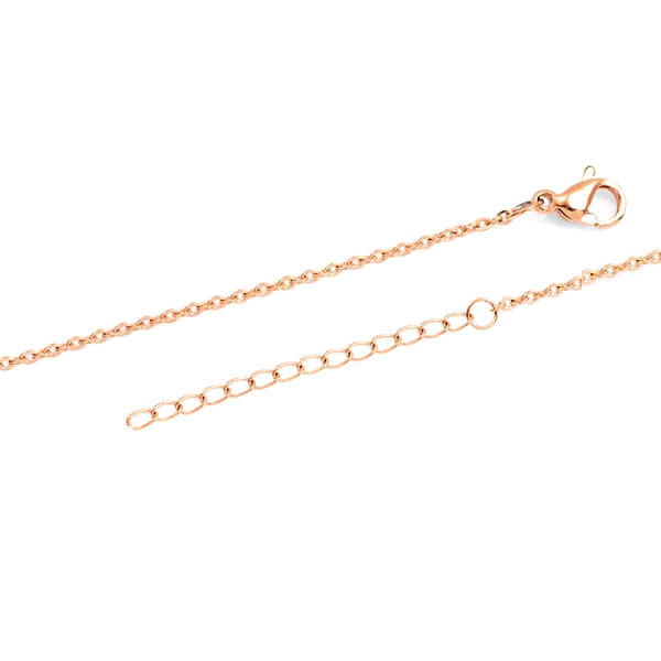 New Rose Gold Custom Bar Necklace inset 1