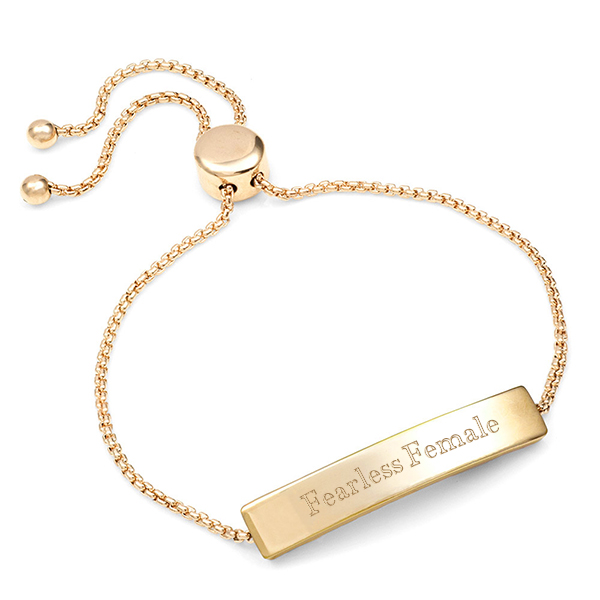 Gold Bolo Personalized Bracelet for Her inset 2
