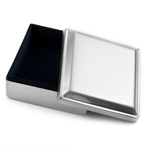 Handwriting Gifts Square Jewelry Box inset 1