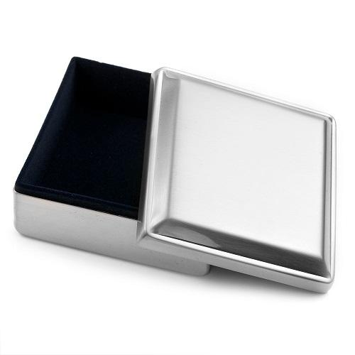 Handwriting Gifts Square Jewelry Box inset 1