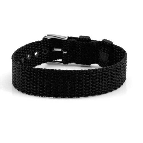 Adjustable Black Personalized Bracelet  inset 1