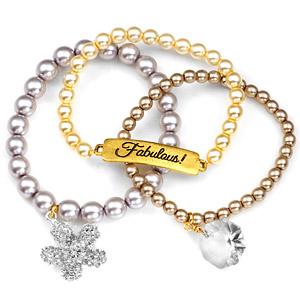 Fabulous! 24K Gold Plated Charm Bracelets by John Wind inset 1