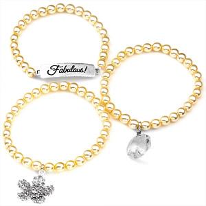 Fabulous! Silver Plated Charm Bracelets by John Wind inset 1