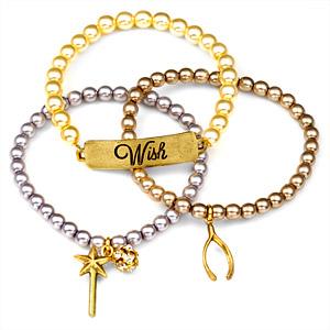 Wish 24K Gold Plated Charm Bracelets by John Wind inset 1
