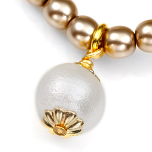 Sisters 24K Gold Plated Charm Bracelets by John Wind inset 2