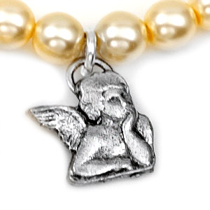 Baby Girl Silver Plated Charm Bracelets by John Wind inset 3