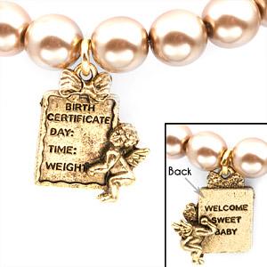 Baby Boy 24K Gold Plated Charm Bracelets by John Wind inset 3