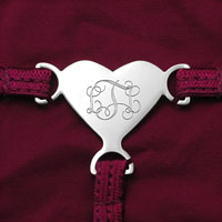 Engravable Initials G-String for Women inset 5