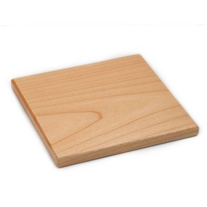 Engraved Wood Square & Stand Tabletop Décor inset 1