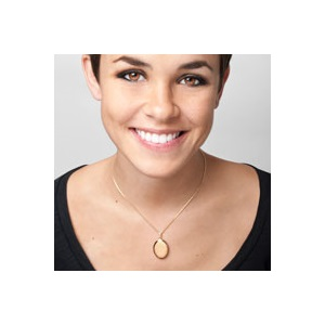 Erika 14K Gold Filled Personalized Locket Necklace inset 2