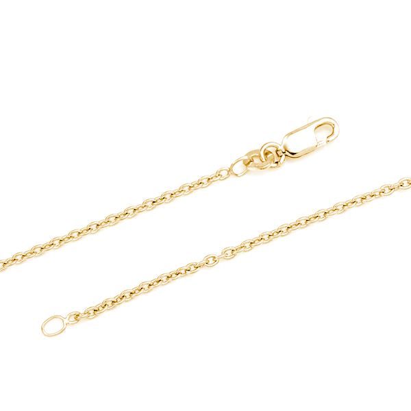 Premium 14K Gold Bar Necklace 18 - 20 In inset 1