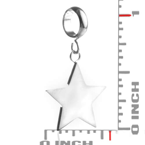 Shining Star Personalized Silver Charm inset 1