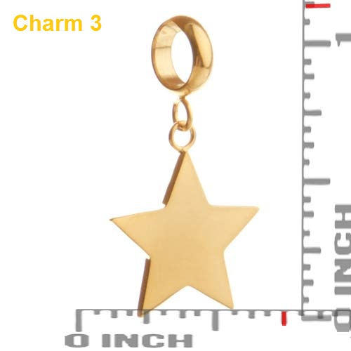 Echo Soft Leather Gold Charm Wrap - Deluxe Deal inset 3